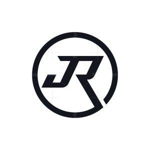 Stylish Letter Jr Logo