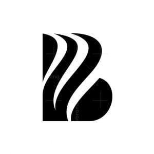 Unique Initial B Logo