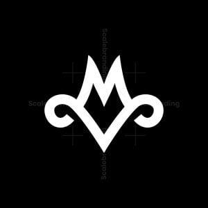 Vm Letter Logo