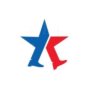 Walking Star Logo