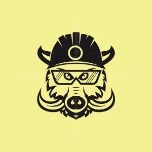 Warthog Construction Logo
