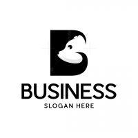 Letter B Bear Logo