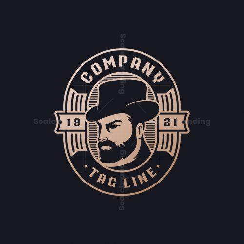 Bearded Gentleman Logo
