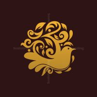 Bird Ornament Logo