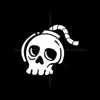 Bomb Skull Logo