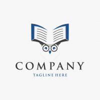 Book Owl Logo