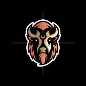 Buffalo Mascot Logo