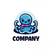 Cute Octopus Logo