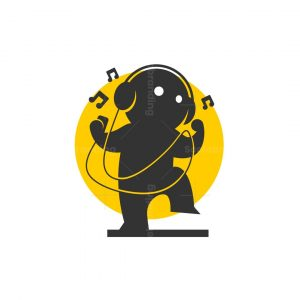 Dancing Music Logo