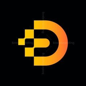 Logo Digital Letter D