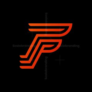 Letter F Line Logo