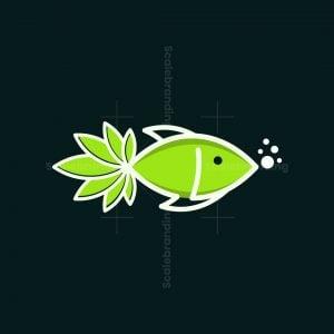 Fish Cannabis Logo