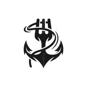 Fork Anchor Logo