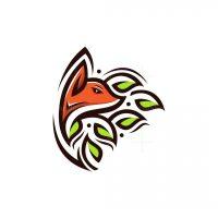 Fox Leaves Logo