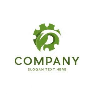 Gear Leaf Logo