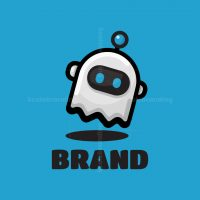 Friendly Ghost Bot Logo