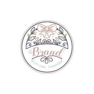 Gifting Company Stamp Logo