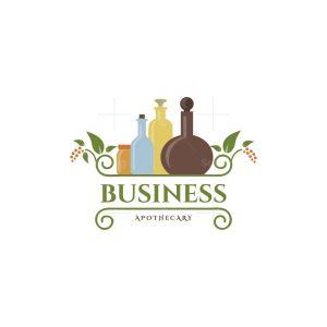 Green Rack Apothecary Pictorial Logo