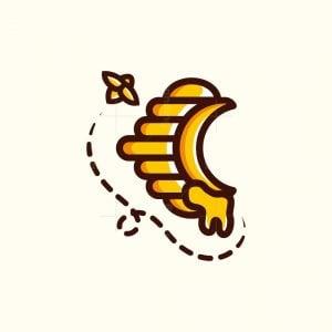 Honeycomb Letter C Logo