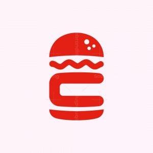 Letter C Hamburger Logo