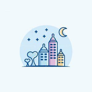 Baby Bottle City Logo