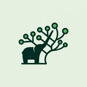 Natural Elephant Logo