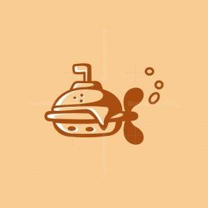 Submarine Burger Logo
