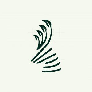 Natural Deer Logo