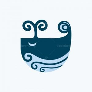 Curly Whale Logo