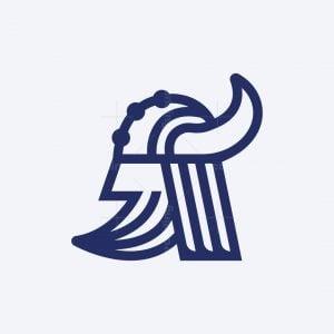 Minimalist Viking Logo