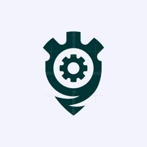 Gear Shield Logo