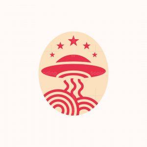 Ufo Noodle Logo