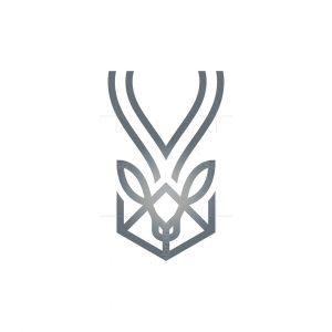 Hexagon Oryx Logo Oryx Head Logo