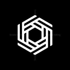 Rotating 6 Or G Hexagon Logo