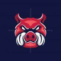 Hog Mascot Logo