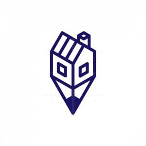 House Pencil Logo