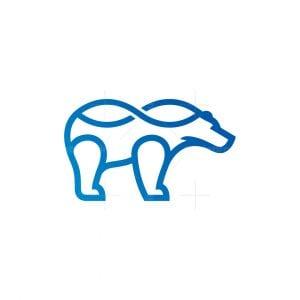 Infinity Polar Bear Logo