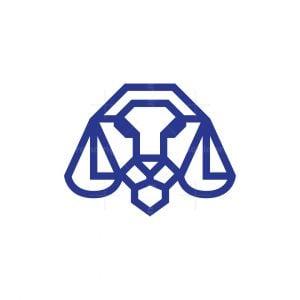 Legal Law Lion Logo Lion Head Logo