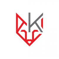 Letter K Fox Logo Fox Head Logo