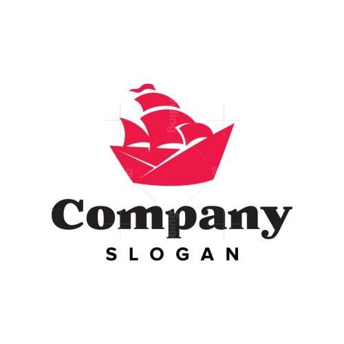 Paper Ship Logo