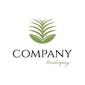 Planting Landscaping Symbol Logo