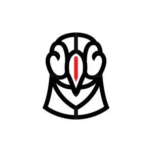 Puffin Head Logo Puffin Logo