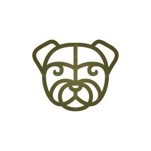 Dog Head Logo Puppy Dog Logo