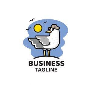 Cute Seagull Logo