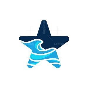 Star Wave Ocean Logo