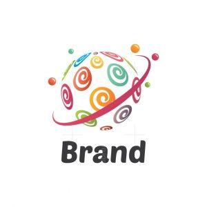 Sweet Planet Symbol Logo
