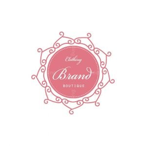 The Dress Boutique Stamp Logo