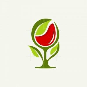 Wine Leaf Logo