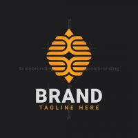 Honeycomb Wing Logo
