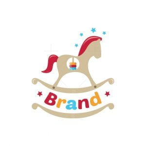 Wooden Horse Symbol Logo